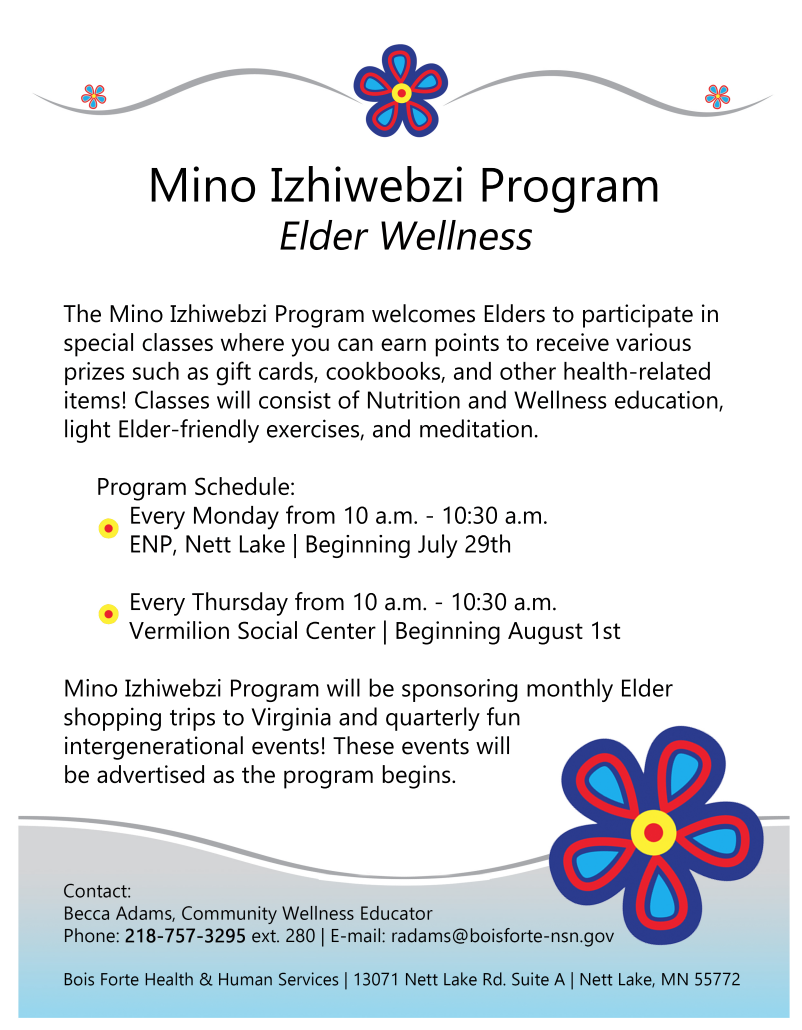 Mino Izhiwebzi Elder Program